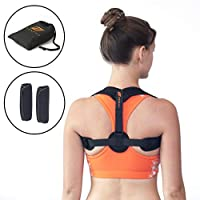 Zonzili Upper Back Posture Corrector – Slim, Adjustable...