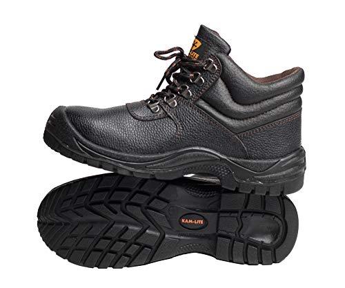 Des De Embout Mens D'acier lite Cuir Étanches Sécurité S3 Professionnelle Bottes Seule Acier Protection Travail Kam À Le Chaussures Mi YzFpInxYqw