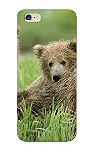 Honeyhoney Durable Nature Animals Grass Bears Back Case/ Cover For Iphone 6 For Christmas
