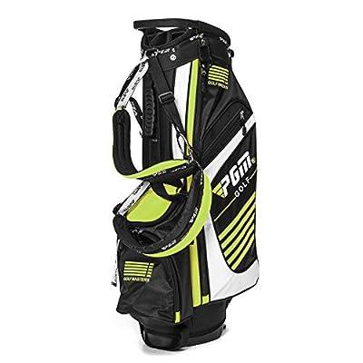 K&A Company Golf Club Stand Bag Outdoor Sport Golf Bags Waterproof Portable Golf Stick Storage Bag, Green