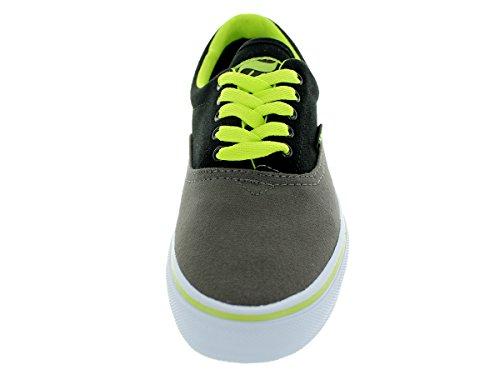 Adio Heren Cruiser Canvas Houtskool / Lime Skate Schoen 10.5 Heren Ons