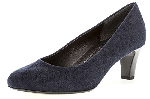 Gabor Women's Basic Closed-Toe Pumps, River Blue (River 46)