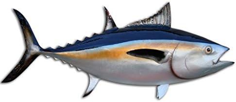 35 Blackfin Tuna Half Mount Fish Replica Fishing Wall Coastal Decor Sports Outdoors Amazon Com
