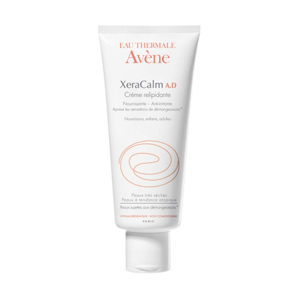 Eau Thermale Avene XeraCalm A.D Lipid-Replenishing Cream, Atopic Dermatitis, Eczema-Prone, No Preservatives, Fragrance-Free, 6.7 oz. by Eau Thermale Avène
