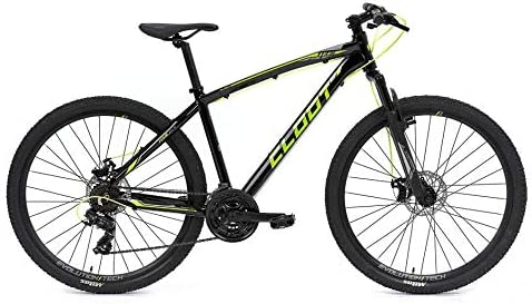 CLOOT Bicicleta montaña 27.5 Trail 2.1 Disc Shimano 21V con suspensión 100mm y Barras de 30mm | Bicicletas Hombre y Mujer. (Talla L (1,78-1,88)): Amazon.es: Deportes y aire libre
