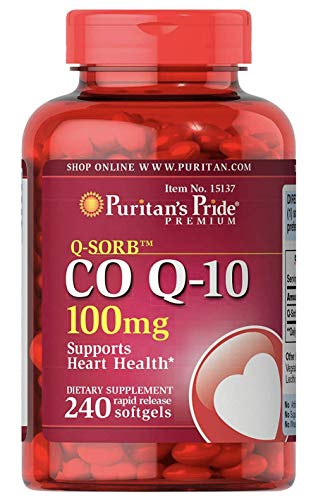 CoQ10 100mg Supports Heart