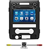 "Bluelotus®8""Car DVD GPS Navigation for FORD F150 2010 2011 2012 2013 2014 with Bluetooth+TV+Radio+steering Wheel Control+RDS+Sd/usb+AUX IN+ Free Backup Camera+US Map"
