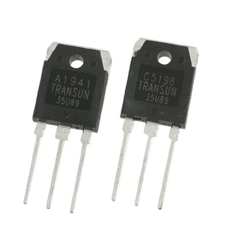 DealMux a11101800ux0109 Pair A1941 + C5198 10A Power Amplifier Transistors, 200V