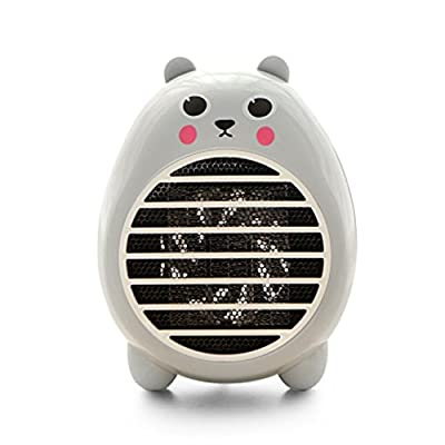 Rubility Cute Heater Fan Cartoon Household Warmer Mini Electric Fan Heater