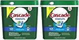 Cascade Complete ActionPacs Dishwasher Detergent, Fresh Scent (2-Pack (78 Count) #1 Recommended)