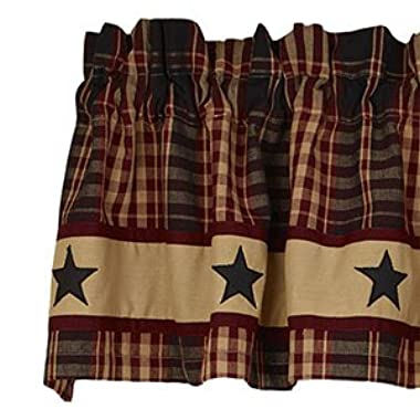 Village Star Country Valance