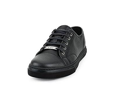 fef3853c4c5d92 Amazon.com  Gucci Men s Pebbled Nappa Leather Low-top Sneakers ...