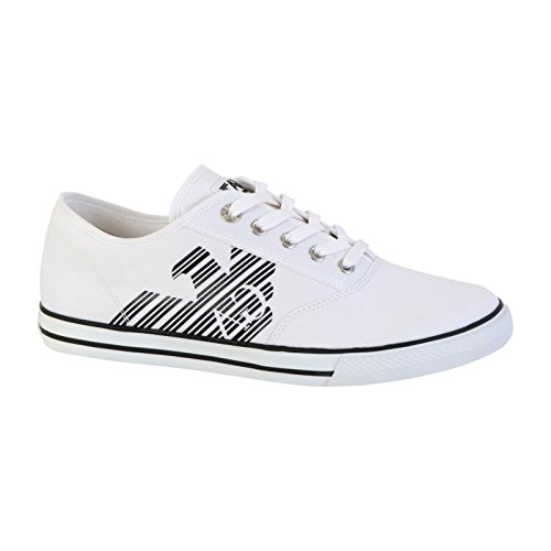 Emporio Armani Scarpe Sneakers CULT VINTAGE Uomo Bianco 248077-CC299-00010
