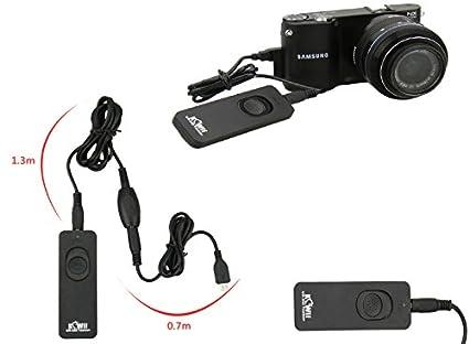 Cable Disparador Remoto con Cable alargador Adicional para Samsung ...