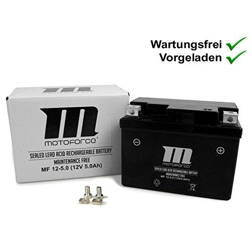 Onderhoudsvrije batterij YT4A-3 5Ah Vespa Primavera 50 2T 13- ZAPC532, LX 50 2T ZAPC381, ET2 50 00- ZAPC381, Yamaha…