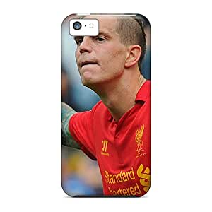 New Style Tpu 5c Protective Case Cover/ Iphone Case - The Best Player Of Liverpool Daniel Agger