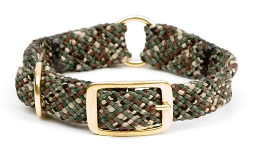 Mendota Products Center Ring Dog Collar, Camo, 1 x 18-Inch, My Pet Supplies