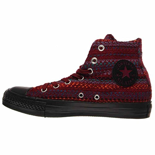 Hi Star 37 Converse black Femme Chaussures Chuck Textile Taylor larkspur Eur Oxheart 5 All ItqWHqwz