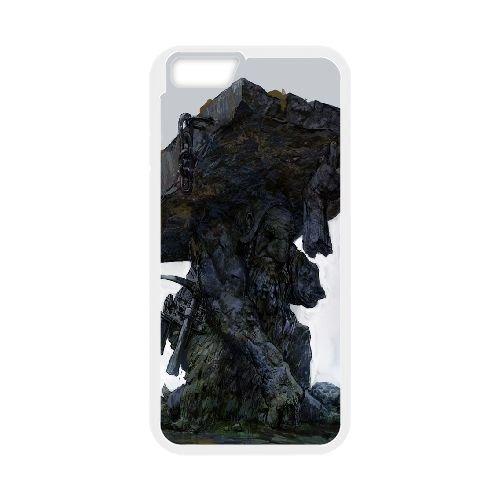 Df Statue Dwarf Fortress coque iPhone 6 4.7 Inch Housse Blanc téléphone portable couverture de cas coque EBDXJKNBO09428