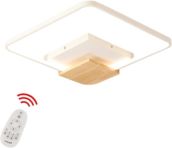 LED Light Restaurant Corridor Square Ceiling Lamp Stepless Dimming Wifi Control