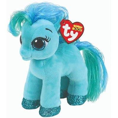 "Ty Beanie Boos 6"" TOPAZ Magical Pony, Perfect Plush!: Toys & Games"