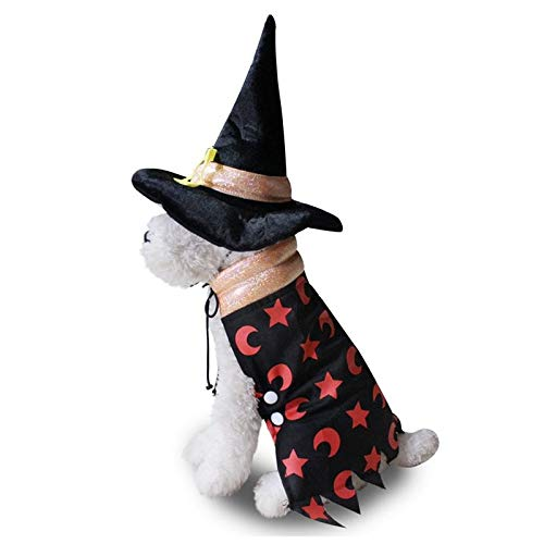 Dog Sets - 2pcs Pet Dog Christmas Cosplay Costume Dogs Funny Halloween Cloak Parties Dressing Up - Sets Boys Girls Sets Dress Cloak Mascot Christmas Batman Cape Deer Costume Outfit Halloween S ()