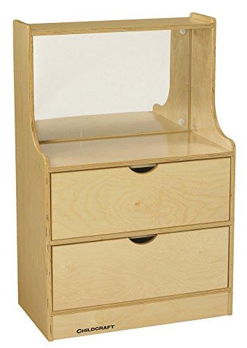 Childcraft 1528674 Dresser with Mirror, 23-3/4