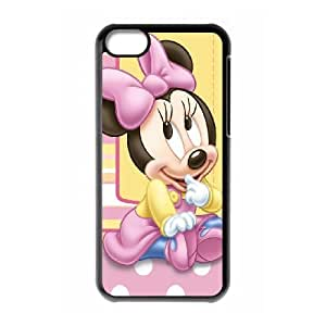 iPhone 5c Cell Phone Case Black Minnie Mouse 1 Wadbx