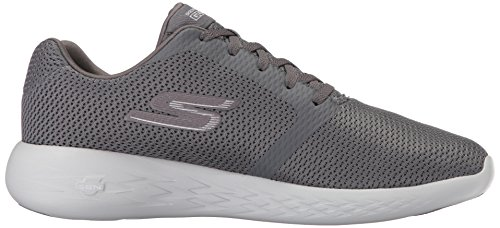Grigio Uomo Run Skechers Charcoal Indoor Scarpe 600 Sportive Go Refine v0w6qxR8