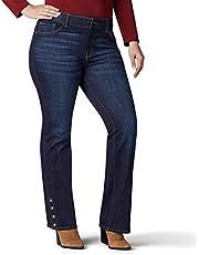Lee Women's Plus-Size Flex Motion Regular Fit Bootcut Jean