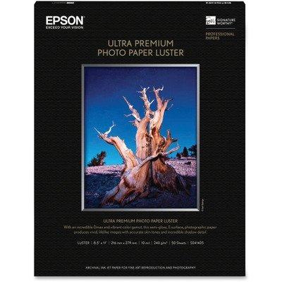 Epson Photographic Paper - Letter - 8.5amp;quot; x 11amp;quot; - 240g/m
