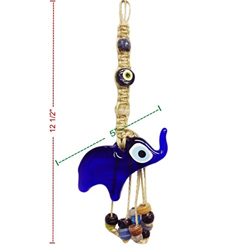 Buy new elephant evil eye wall hanging