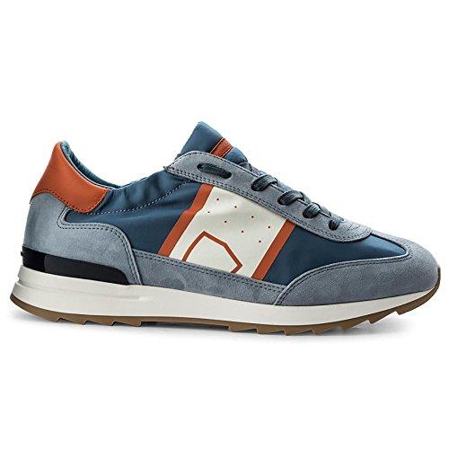 Philippe Model Men's PSLUB002 Blue Leather Sneakers sale lowest price rBF4o