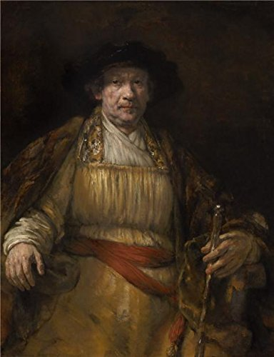 [The Perfect Effect Canvas Of Oil Painting 'Rembrandt Harmensz. Van Rijn - Self-Portrait, 1658' ,size: 18x23 Inch / 46x60 Cm ,this Imitations Art DecorativePrints On Canvas Is Fit For Basement Artwork And Home Gallery Art And Gifts] (50's 60's Rock And Roll Costumes)