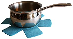Flower Pots and Pan Protectors best 5-piece set to keep kitchenware free of scratches or marring when stacking or nesting cookware accessories