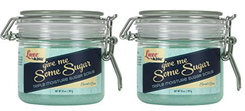 Luxe by Mr. Bubble Body Scrub Sweet & Clean scent 14 oz. 2 pack