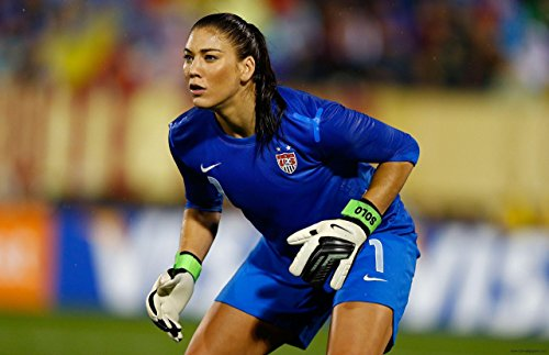 Sexy Star Football - Hope Solo Sports Poster Photo Limited Print Sexy Celebrity USA Olympic Soccer Women Athlete Size 16x20 #1