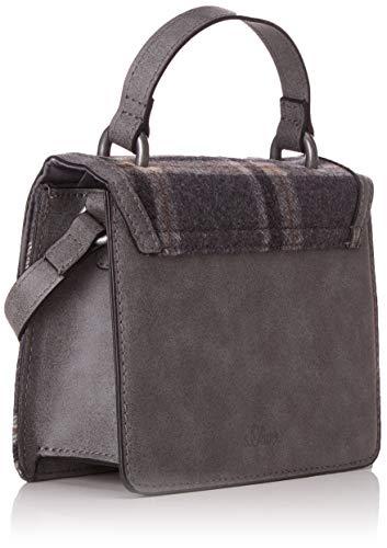 s City Sacs bandoulière Bag Gris Grey Black Oliver Check qBUnBv