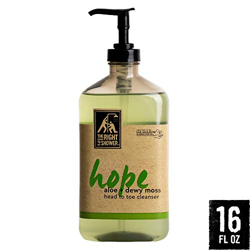 The Right To Shower Sulfate Free Body Wash, Hope, 16 Ounce