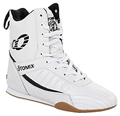 Otomix Limited Edition Pro Boxer Men's Boxing Shoes (9, White)