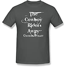 RIDA George Strait The Cowboy Rides Away T-shirts For Men