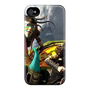 KellyLast Iphone 4/4s High Quality Cell-phone Hard Cover Unique Design Realistic How To Train Your Dragon 2 Skin [PwH7956KuUS]