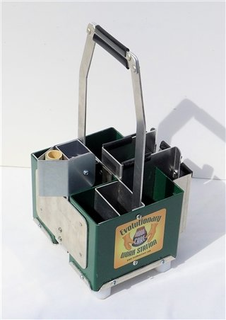 The EVO Hoof Care Hoof Tool Caddy/Box - Deluxe Standard size Square by EVO Hoof Care