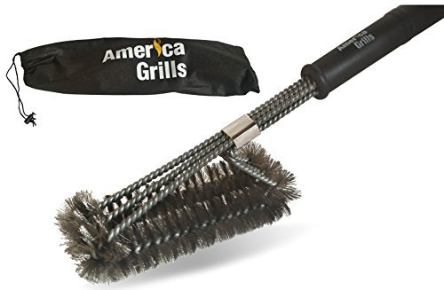 America Grills 3-in-1 BBQ Grill Brush by America Grills (Image #1)