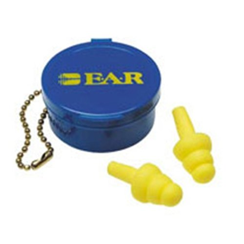 Use E-A-R UltraFit Triple Flange Foam Uncorded Earplugs (50 Pair Per Box) [Set of 50]