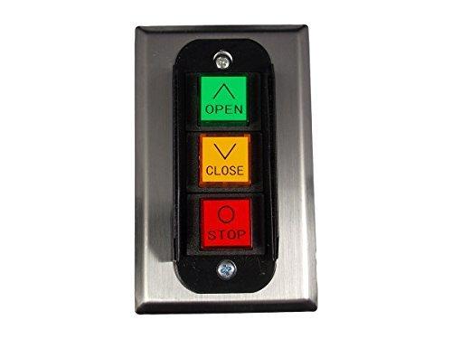 MMTC PBC-3 Nema 1 Three Button Interior Flush Mount Control Station Momentary ()