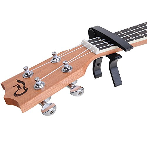 Guitar Capo Single-handed Quick Change For Acoustic & Electric Classical Guitar (black)