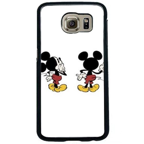 innovative design 7f7e0 6b998 Amazon.com: SamSung Galaxy S6 Black Phone Case Mickey Mouse Galaxy ...