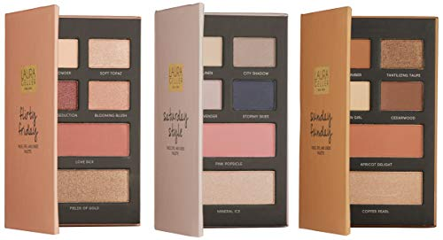 Laura Geller New York The Weekender Face Eye and Cheek Palettes, 1.08 oz. (Best Face Highlighter 2019)