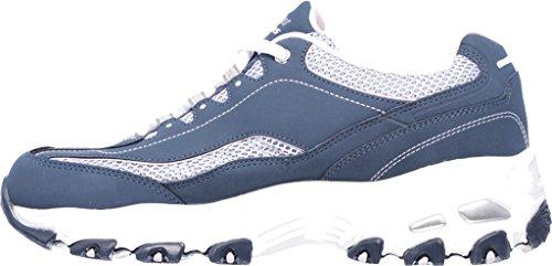 Skechers Womens Dlites Risparmiatore Di Vita Marina Sneaker